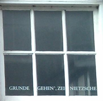 Grunde gehen - Nietzsche