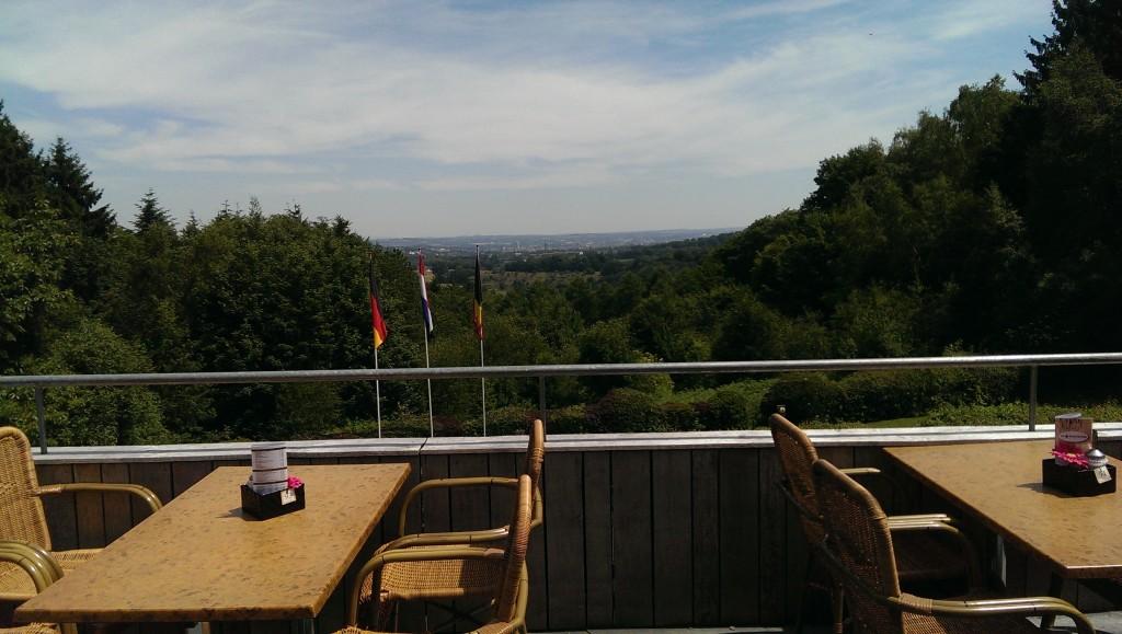Uitzicht vanaf Vaalserberg