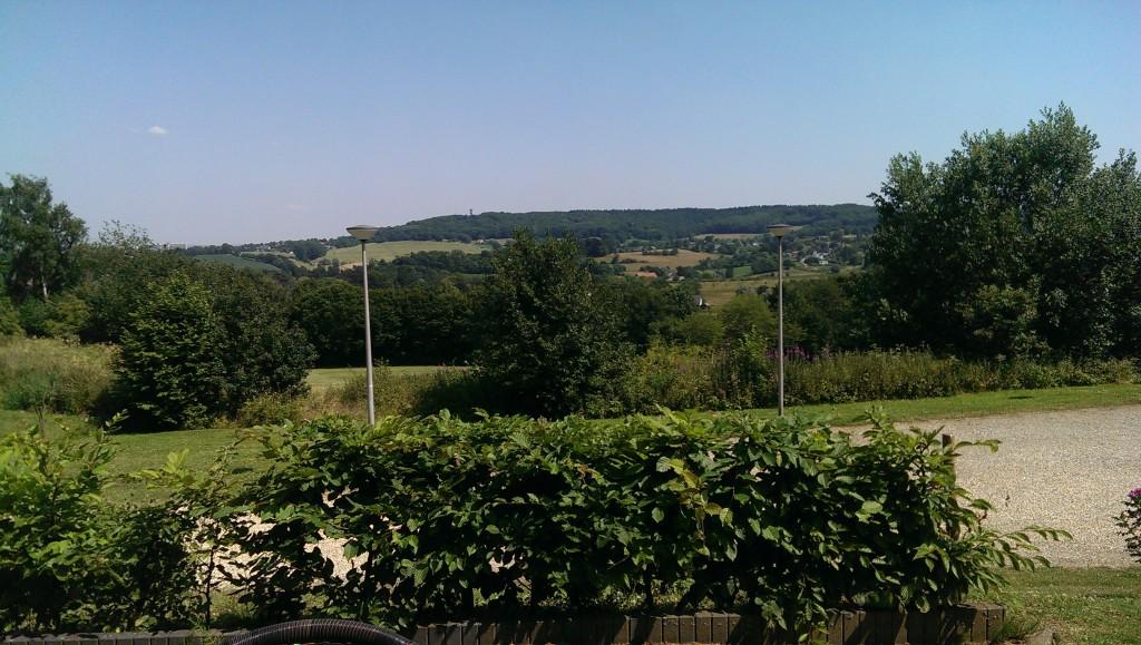 Uitzicht vanaf Vijlenerbos