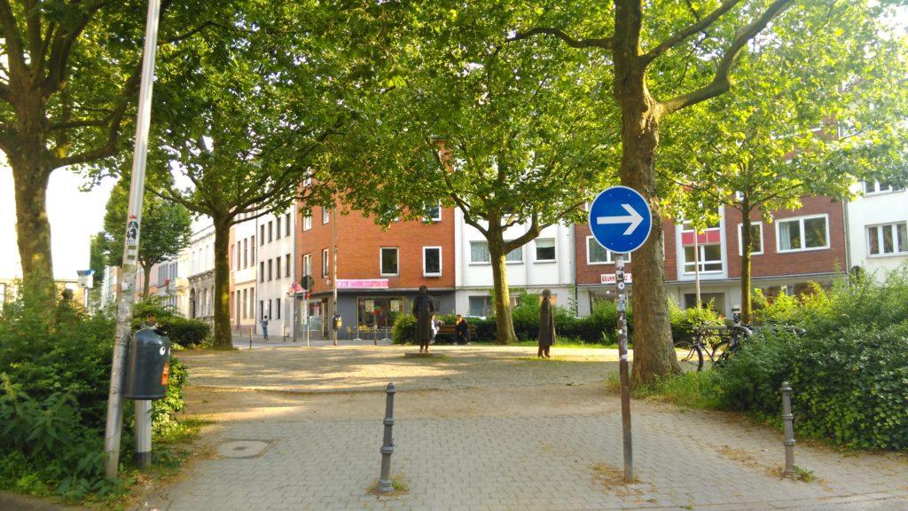 Buurtdemocratie pleintje in Aken (2)