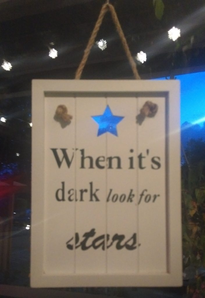 Look for the stars